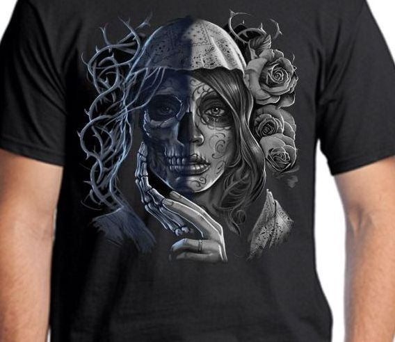 cff0386eb Day of the Dead T-Shirts | Back Alley Wear