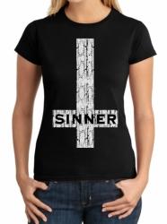 Sinner Ladies T-Shirt