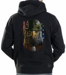American Warrior Eagle Hoodie Sweat Shirt