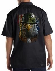 American Warrior Eagle Work Shirt