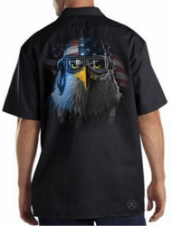 Freedom Fighter Eagle Work Shirt