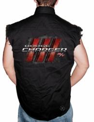 Dodge Charger R/T Sleeveless Denim Shirt