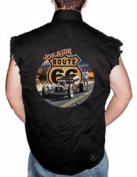 Route 66 Joy Ride Sleeveless Denim Shirt
