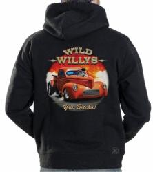 Wild Willys Hoodie Sweat Shirt