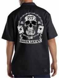 Born Lucky Work Shirt