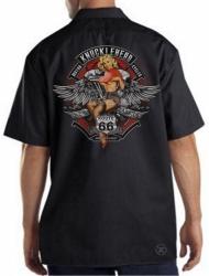 Knucklehead Motorcycles Work Shirt