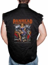 Panhead Motor Works Sleeveless Denim Shirt