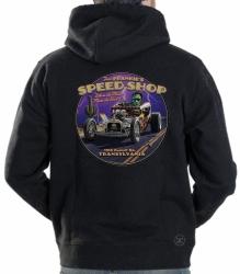 Fast Frankie's Speed Shop Hoodie Sweat Shirt