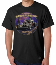 Fast Frankie's Speed Shop T-Shirt