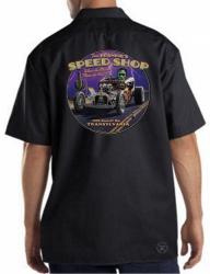 Fast Frankie's Speed Shop Work Shirt