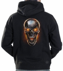 Metal Skull Hoodie Sweat Shirt