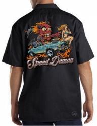 Red Devil Speed Demon Work Shirt