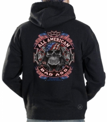 All American Bad Ass Hoodie Sweat Shirt