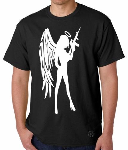 Angel Girl w/ AR-15 T-Shirt