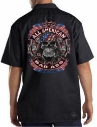 All American Bad Ass Work Shirt