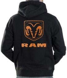 Ram Diamondplate Hoodie Sweat Shirt