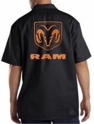 Ram Diamondplate Work Shirt