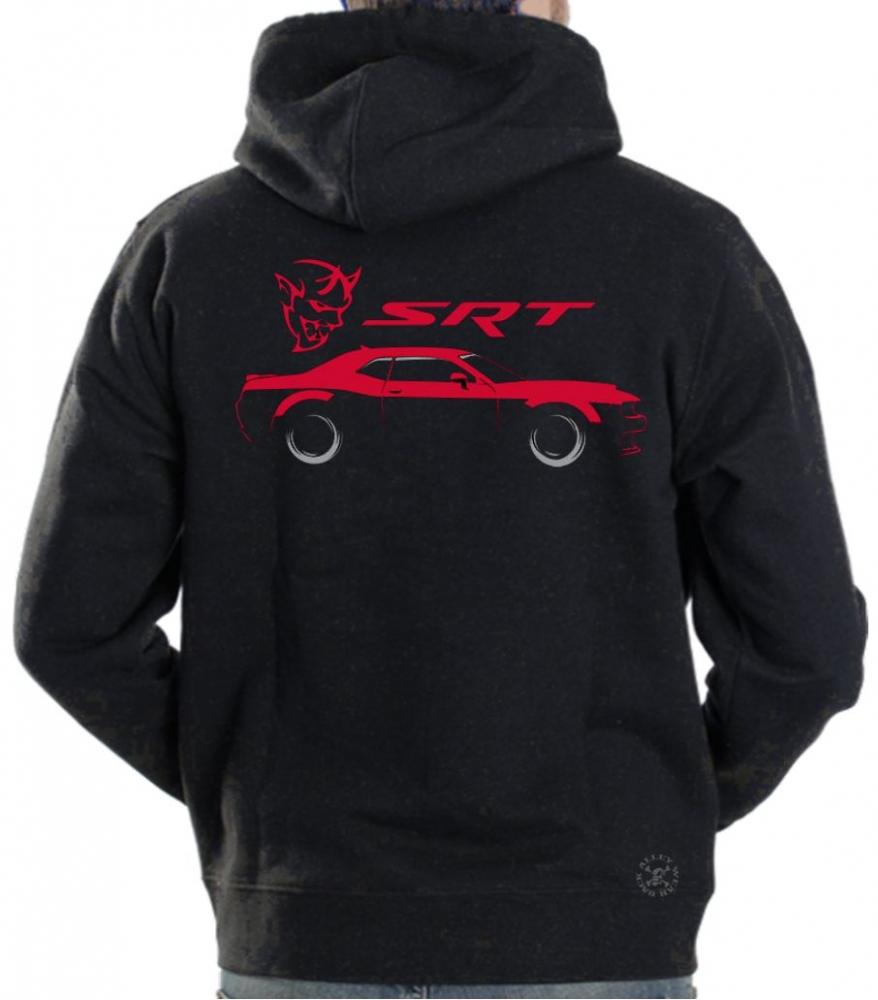 Dodge Ram Hoodie >> Dodge Challenger SRT Hoodie Sweat Shirt | Back Alley Wear