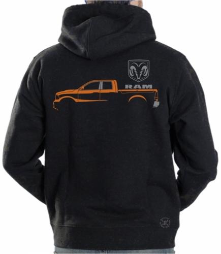 Dodge Ram Hoodie Sweat Shirt