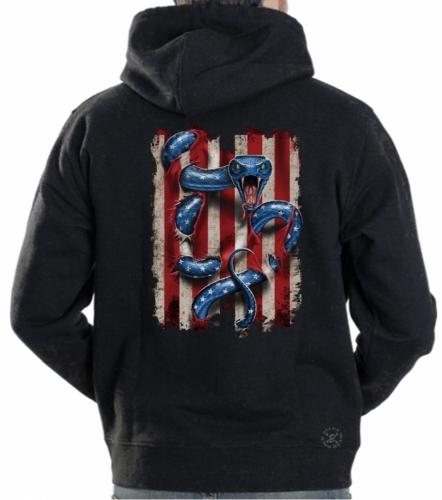 American Serpent Hoodie Sweat Shirt
