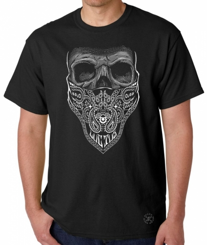 Luctus Bandana Skull T-Shirt