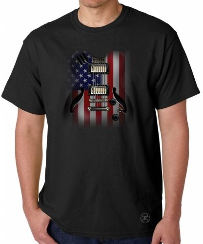 Flag Guitar T-Shirt