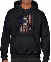 Flag Guitar Hoodie Sweat Shirt