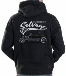 American Salvage Yard Hoodie Sweat Shirt