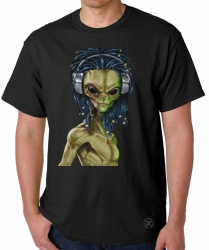 Rasta Alien T-Shirt