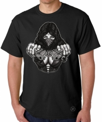 Gangster Girl w/ Guns T-Shirt