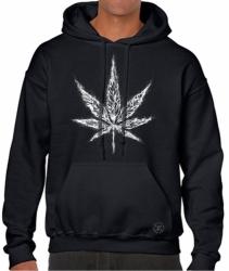 Marijuana Leaf Hoodie Sweat Shirt