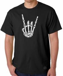 Skeleton Hand Rock T-Shirt