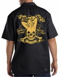 Ride or Die Gearhead Garage Work Shirt