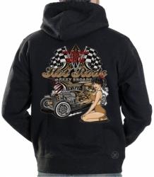 Hot Rods & Sexy Broads Garage Hoodie Sweat Shirt