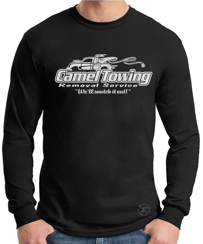 22c91ce2 Details about CAMEL TOWING Long Sleeve T-Shirt ~ Removal Tee ~ Camel Toe  Snatch it Out! FUNNY