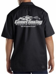 Camel Towing Work Shirt