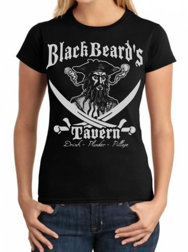 Blackbeard's Tavern Ladies T-Shirt