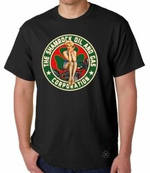 Shamrock Oil & Gas T-Shirt
