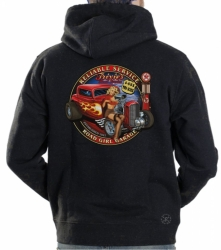 Trixies Road Service Hoodie Sweat Shirt