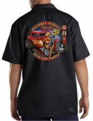 Trixies Road Service Work Shirt