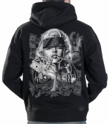 Marilyn Sexy Gangster Hoodie Sweat Shirt