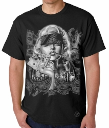 Marilyn Sexy Gangster T-Shirt