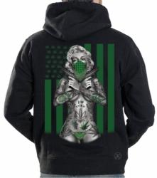 Marilyn Weed Flag Hoodie Sweat Shirt