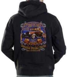 Coast 2 Coast Hot Rod Garage Hoodie Sweat Shirt