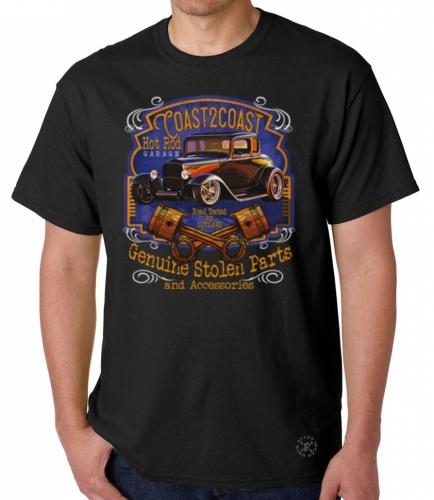 Coast 2 Coast Hot Rod Garage T-Shirt