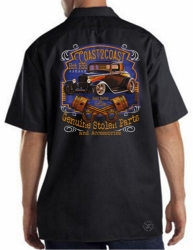 Coast 2 Coast Hot Rod Garage Work Shirt