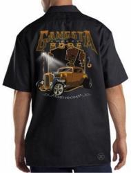 Gangsta Street Rods Work Shirt