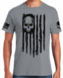 American Patriot Skull T-Shirt