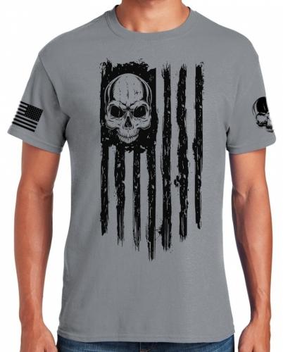 American Patriot Skull T-Shirt
