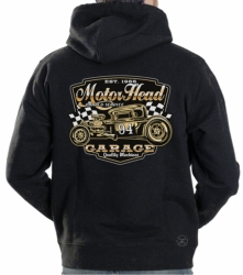 Motor Head Garage Hoodie Sweat Shirt